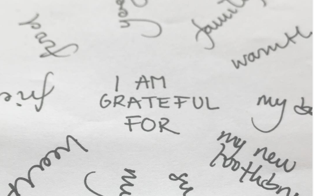 Gratitude fosters happiness